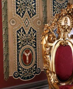 Throne detail