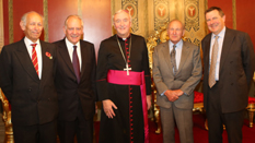 Duke of Norfolk, Archbishop, Chairman and guests