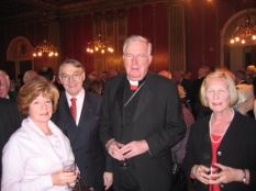 His Eminence with guests at the post-AGM reception
